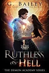 Ruthless As Hell: A Reverse Harem Bully Academy Romance (The Demon Academy Book 2) (English Edition) Format Kindle