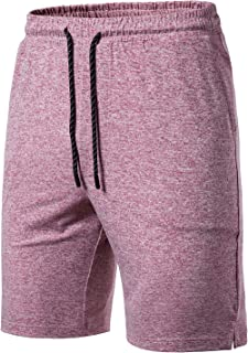 LOCALMODE Mens Tech 4 Way Stretch Performance Sports Running Shorts Classic Fit Casual Jogger Athletic Short with Pockets