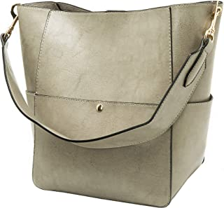 9e94be9c13f Molodo Women's Satchel Hobo Top Handle Tote Shoulder Purse Soft Leather  Crossbody Designer Handbag Big Capacity
