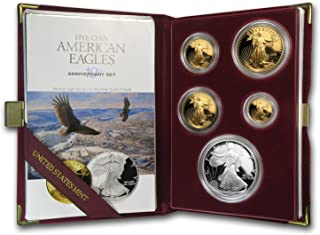 Best 1995 w 5 coin proof american eagle set Reviews