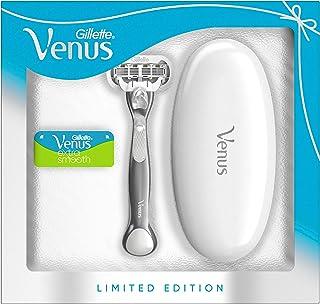 Gillette Venus Extra Smooth Platinum Rasierer Damen, Geschenkset, Damenrasierer + 2..