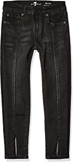 7 For All Mankind Girls' Big Ankle Skinny Stretch Jean