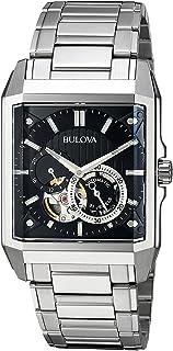 [ブローバ]Bulova 腕時計 Automatic Stainless Steel Casual Watch, Color:SilverToned 96A194 メンズ [並行輸入品]