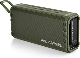 AncordWorks Portable Bluetooth Speaker Hi-Fi Sound, Exclusive Bass Enhance, 20-Watts, IPX7 Water-Resistant, with Floating ...