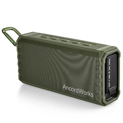 AncordWorks Portable Bluetooth Speaker