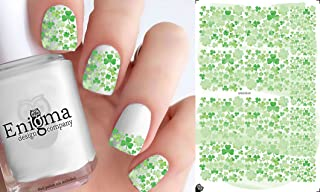 St Patrick's Day Vol II (Clear Water-Slide Nail Decals)