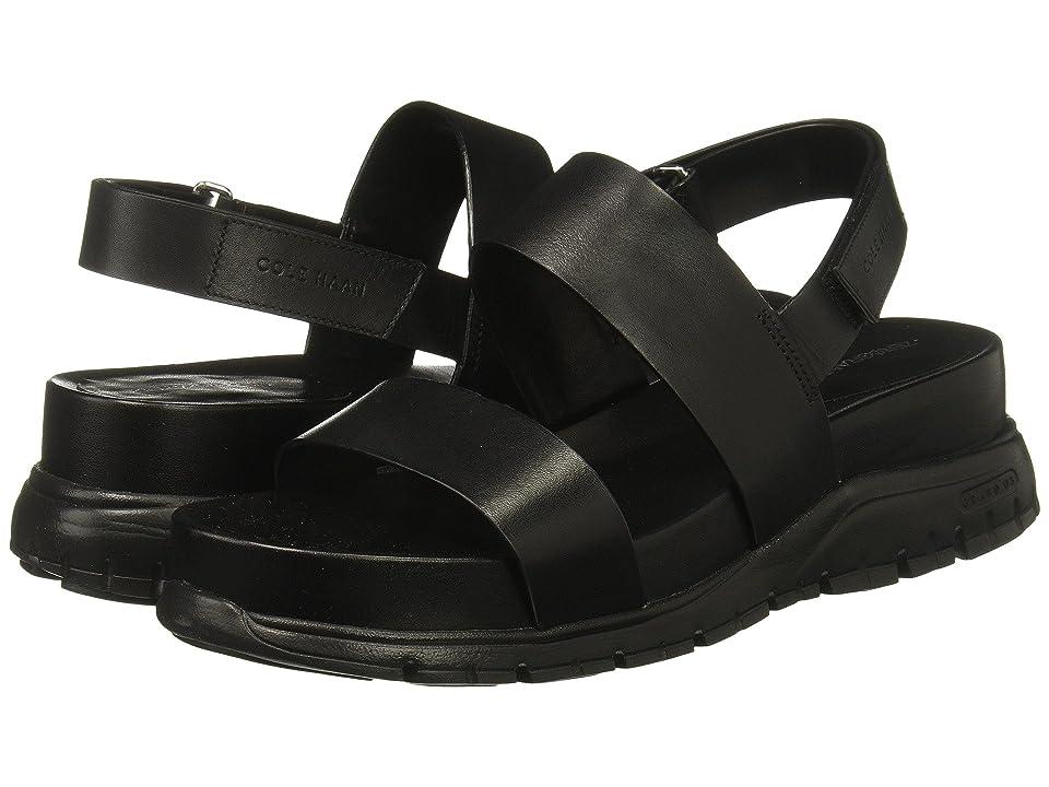 Cole Haan Zerogrand Slide Sandal (Black) Women