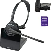 plantronics cs510 supraplus wireless office phone headset