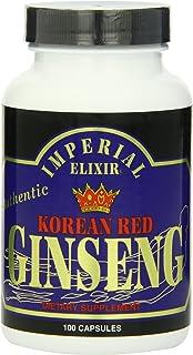 Imperial Elixir, Korean Red Ginseng, 600 mg, 100 Capsules