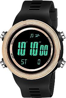Lamkei Sports Digital Display Black Dial Multifunction Men's Watch