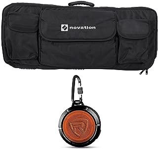 Novation 49-Key Case Soft Carry Bag 4 Launchkey 49 MIDI Keyboards+Speaker