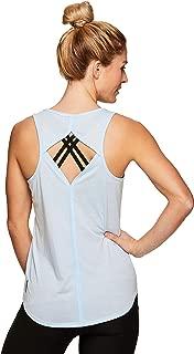 RBX Active Women's Fashion Back Detail Flowy Yoga Tank Top