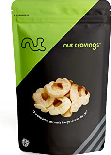 Nut Cravings Dried Apple Rings (1 Pound) – Sweet, Healthy Dehydrated Fruit Snacks – 16 Ounce