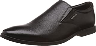 Hush Puppies Men's Aaron Plain Slip On Leather Formal Shoes