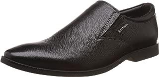 Hush Puppies Men's Aaron Plain Slip On Leather Formal Shoes
