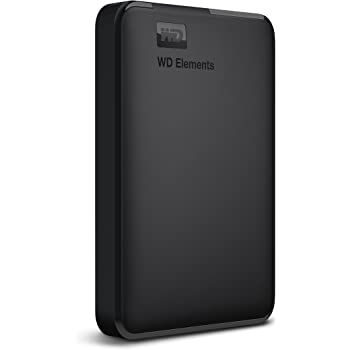 Western Digital Elements 1.5 TB Portable External Hard Drive (Black)