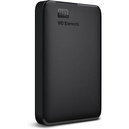 Western Digital WD 1.5TB Elements USB 3.0 Portable External Hard Drive Compatible with PC, PS4 & Xbox - (WDBU6Y0015BBK-WESN)