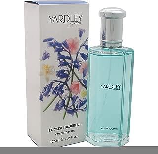 Yardley Of London English Bluebell Eau de Toilette Spray for Women, 124ml