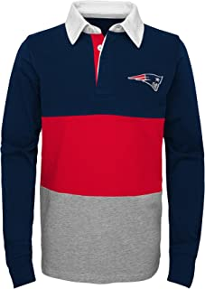 NFL Boys State of Mind Long Sleeve Rugby Top
