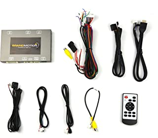 Brandmotion 9002-2772 Dual Camera Interface for Factory Display Radio on Select Audi Vehicles with Internal MMI Knob