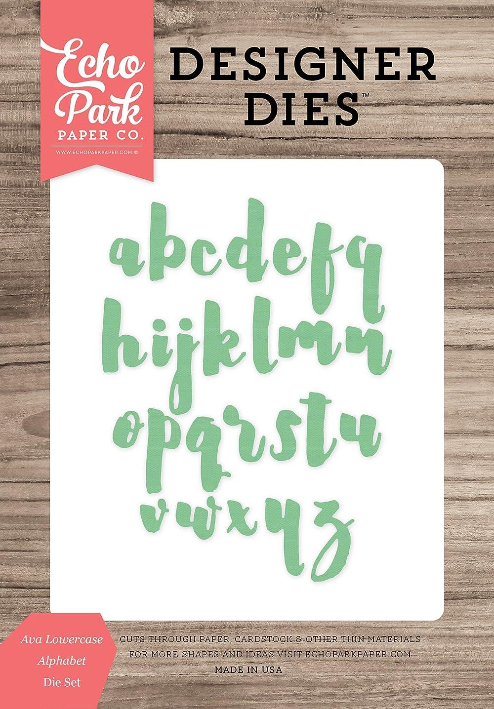 Echo Park Paper Company EPPDIE718 Ava Lowercase Alphabet Die Set