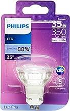 Lâmpada Led Gu10 Philips, 4.2w Branco