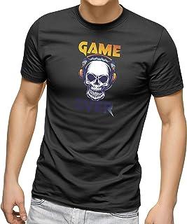 CREO Customized Round Neck Shirt - Game over skull Design