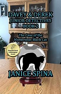 Davey & Derek Junior Detectives Series Book 2: The Case of the Mysterious Black Cat