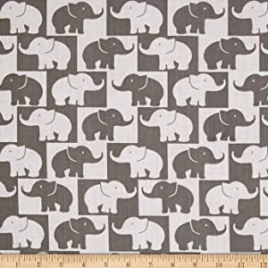 Newcastle Fabrics Easycare Broadcloth Tusk, Grey