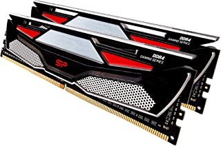 Silicon Power Gaming Series DDR4 16GB (8GBx2) 3200MHz (PC4 25600) 288-pin CL16 1.35V UDIMM Desktop Memory Module - Low Vol...