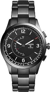 Fossil Q Activist Grey Stainless Steel Hybrid Smartwatch FTW1207