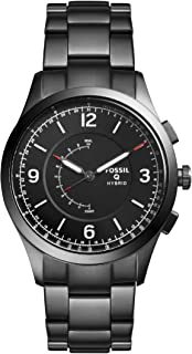 Fossil Hybrid Smartwatch Activist Smoke Stainless Steel - FTW1207