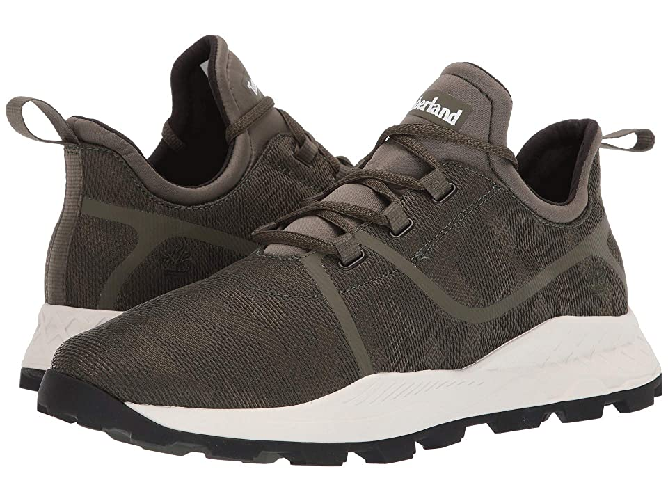 Timberland Brooklyn Fabric Oxford Sneakers (Dark Green Mesh Camo) Men
