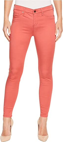 Liverpool - Madonna Ankle Skinny Pants in Micro-Peached Twill in Bossa Nova
