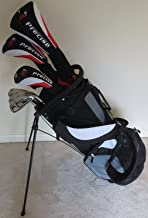 Tall Mens Complete Golf Set Clubs Fits Men 6'0- 6'6 Tall Driver, Fairway Wood, Hybrid, Irons, Putter, Stand Bag