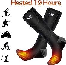 Gamegie Battery Heated Socks - Rechargeable Heating Socks, Winter Electric Thermal Socks Foot Warmers for Men Women Sport Outdoor