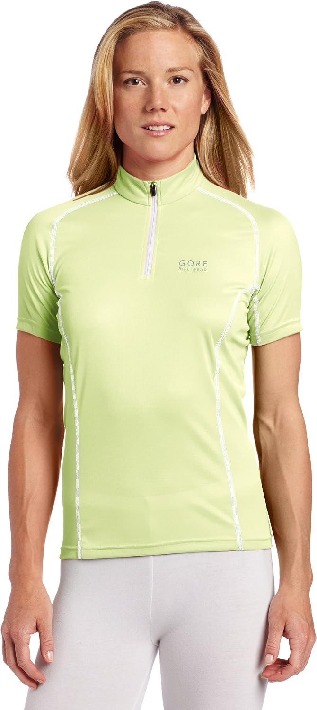 Gore Bike Wear Women's Contest Lady Jersey, Green Tea White, Medium