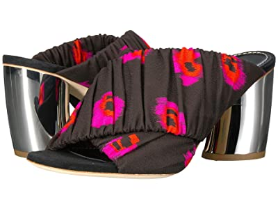 Proenza Schouler PS29115 (Tess/Ikat/Silver) High Heels