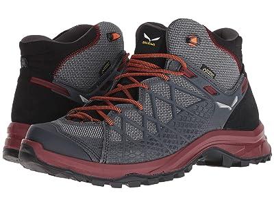 SALEWA Wild Hiker Mid GORE-TEX(r) (Black/Biking Red) Men