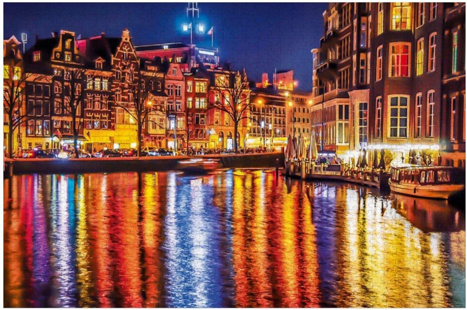 1000 Piece Wooden Tampa Mall Jigsaw Puzzle Large for Amsterdam gift Game