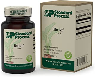 Standard Process - Biost - Gluten Free Health Supplement for Bones and Teeth, 6 mg Manganese, Supports Skeletal and Cellular Health - 360 Tablets