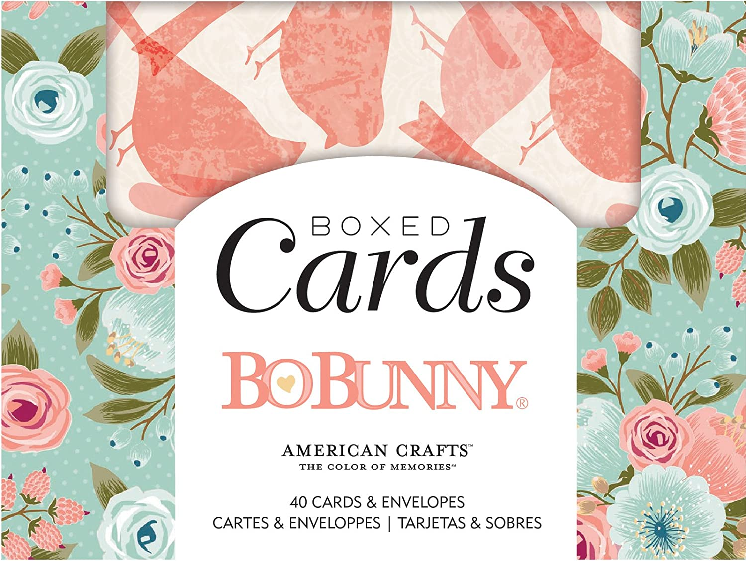 Bo Bunny Over Inexpensive item handling Early Bird Multicolor Envelopes Cards