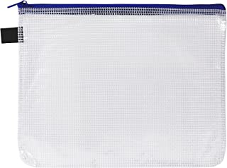 Avery Blue Handy Pouch with Zip, Pencil Case, A5 (49502)