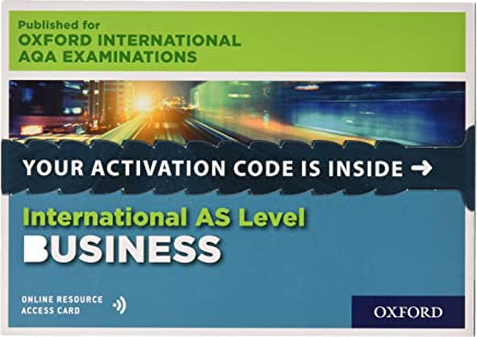 International AS Level Business for Oxford International AQA Examinations: Online Student Book