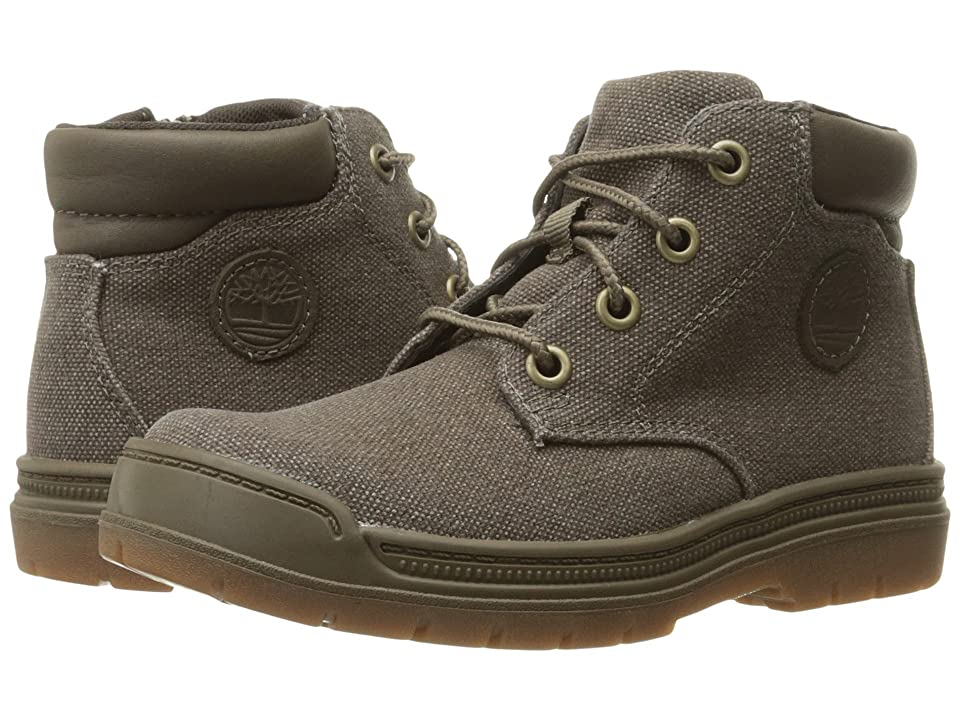 Timberland Kids Ramble Wild Canvas Lace Chukka (Toddler/Little Kid) (Canteen Canvas) Kid