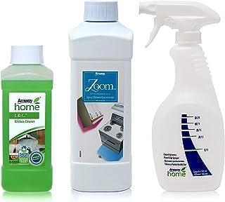 Amway Reinigungspaket - 1 x Sprayreiniger-Konzentrat ZOOM™ - 1 Liter  1 x Sprühflasche mit Dosiergriff AMWAY HOME™  1 x Küchenreiniger L.O.C.™ - 500 ml