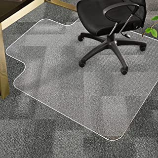 Chair Mat Carpet Floor Protectors PVC Home Office Room Computer Work Mats 120x90
