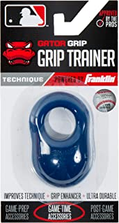 Franklin Sports Baseball Bat Swing Trainer - Gator Grip Grip Trainer - Baseball and Softball Hitting Aid - Knuckle Aligner and Swing Trainer