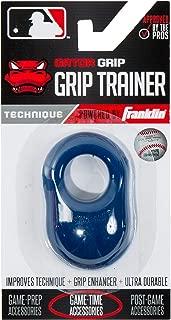 Franklin Sports Baseball Bat Swing Trainer - Gator Grip Grip Trainer - Baseball and Softball Hitting Aid - Knuckle Aligner and Swing Trainer