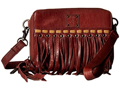 STS Ranchwear Fringe Package Deal Crossbody (Red/Brown) Handbags